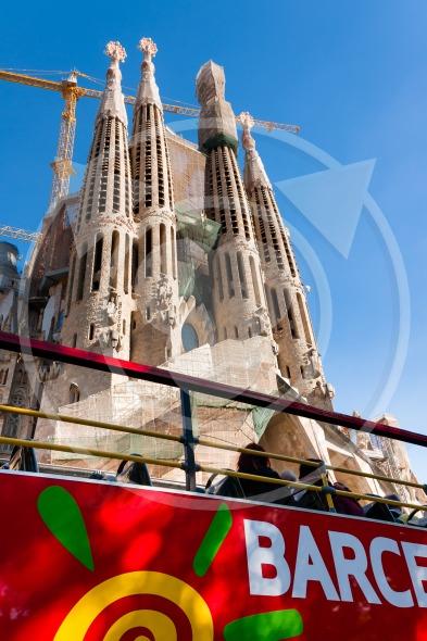 Sagrada Familia bus tour Barcelona