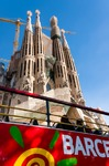 Image of Sagrada. Sagrada Familia bus tour Barcelona