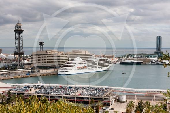 Port Vell of Barcelona