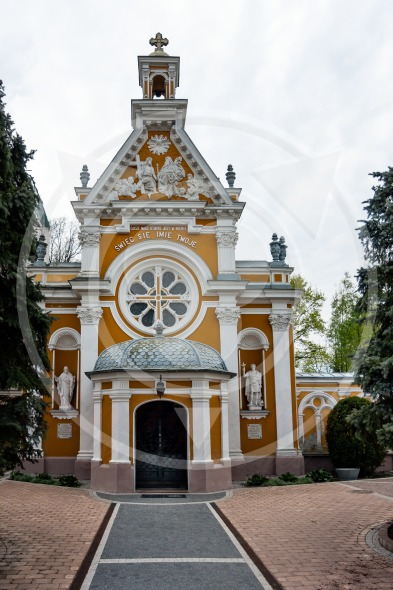 Church of Saint Felix de Valois in Guzow