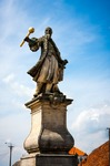 Image of Czarniecki. Stefan Czarniecki, monument in Tykocin