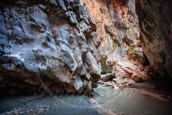Saklikent Gorge landscape, Turkey