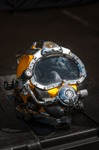 Image of helmet. Diving Helmet Kirby Morgan 37