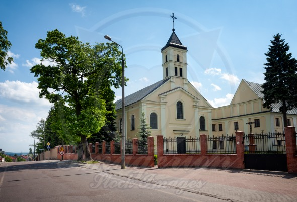 Lomza City, Poland, Benedictine nuns Church