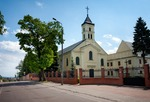 Image of Trinity. Lomza City, Poland, Benedictine nuns Church