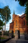 Image of church. Church in Sniadowo Village, Poland