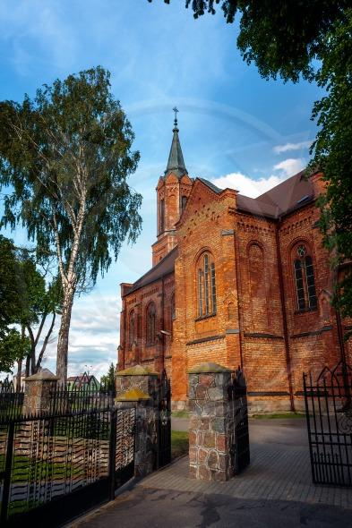 Church in Sniadowo Village, Poland