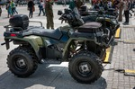 Image of quad. All Terrain Vehicle Quad Polaris Sportsman