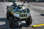 Image of wheeled. Quad Arctic Cat 400 All Terrain Vehicle