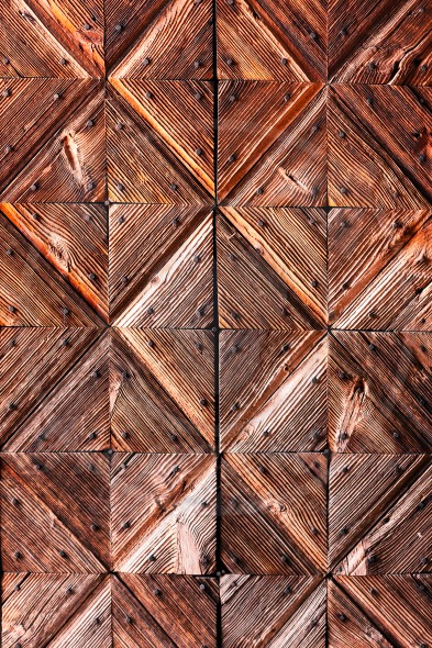 Wooden background of ancient door