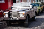 Image of automobile. Old Land Rover Series 3
