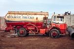 Image of car. Renault Trucks truck scrap