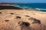 Image of beach. Sand Dunes of Praia Grande beach