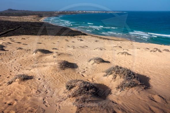 Sand Dunes of Praia Grande beach