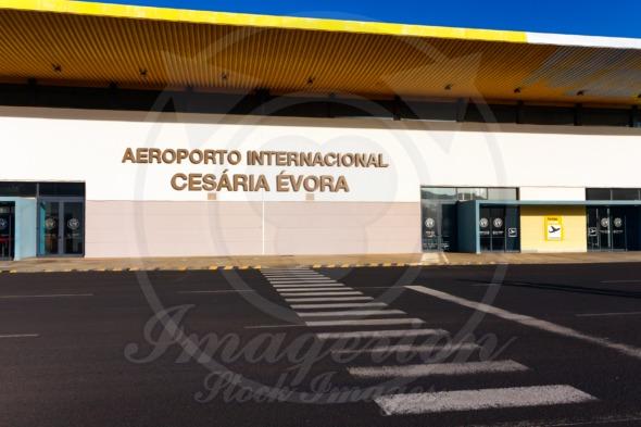 Cape Verde Airport of Cesaria Evora on Sao Vicente Island