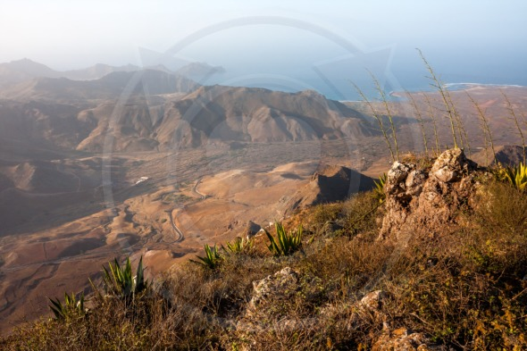 View from the Monte Verde near Mindelo
