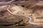 Image of road. Desert road in Martian like landscape Cape Verde, Santo Antao