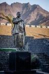Image of statue. Statue of Cesaria Evora