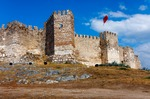 Image of castle. Citadel of Ayasoluk in Selcuk. Turkey