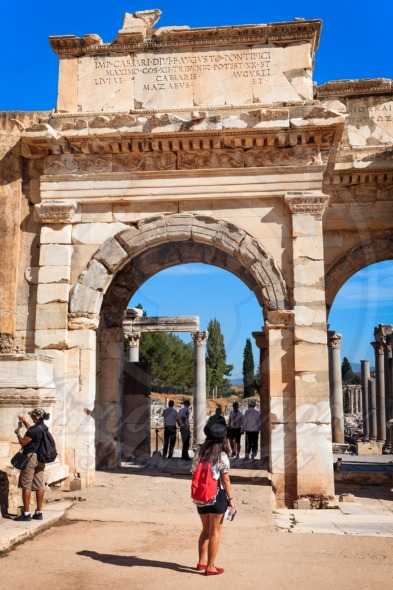 Ephesus, Gate of Augustus