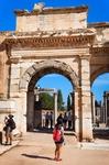 Image of Ephesus. Ephesus, Gate of Augustus