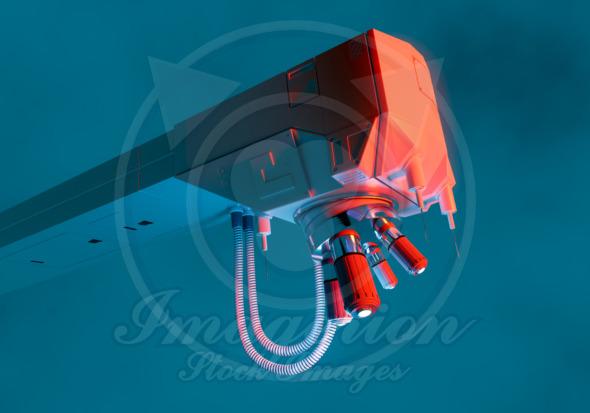 Microscope concept art