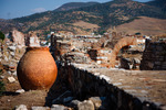 Image of Selcuk. Ancient large clay pot in Selcuk / Ephesus. Turkey
