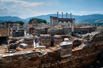 Image of archeology. Basilica of St. John  the Apostle, ruins in Selcuk, Turkey