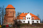 Image of brick. Medieval Castle in Liw Town, Poland