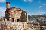 Image of Ayasoluk. Ancient architecture of the Ayasuluk Castle in Selcuk. Turkey