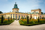 Image of residence. Museum of King John III's Palace, Wilanow in Warsaw