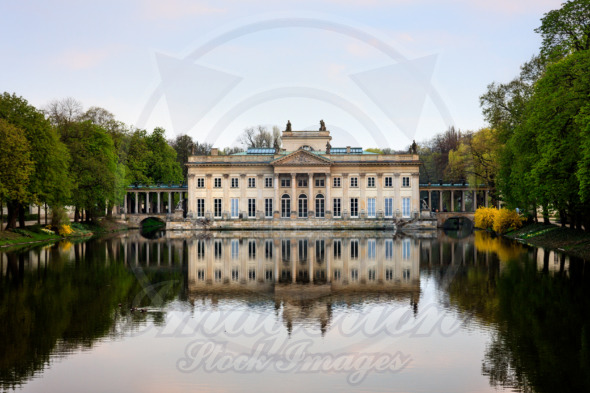 Lazienki Park Palace, Warsaw, Royal Baths