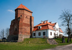 Image of Liw. Liw medieval castle, landmark in Poland