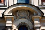 Image of Studzianna. Basilica of Saints Philip Neri, architectural detail. Studzianna Poswietne