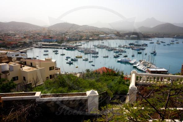 Mindelo Marina on Sao Vicente island, Cape Verde
