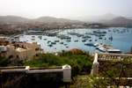 Image of . Mindelo Marina on Sao Vicente island, Cape Verde
