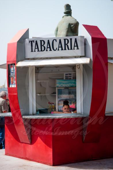 Mindelo Tabacaria – tobacco shop hut