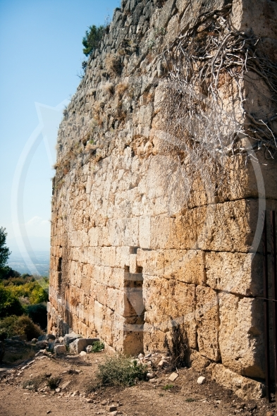 Ancient wall of ruins of Tlos City