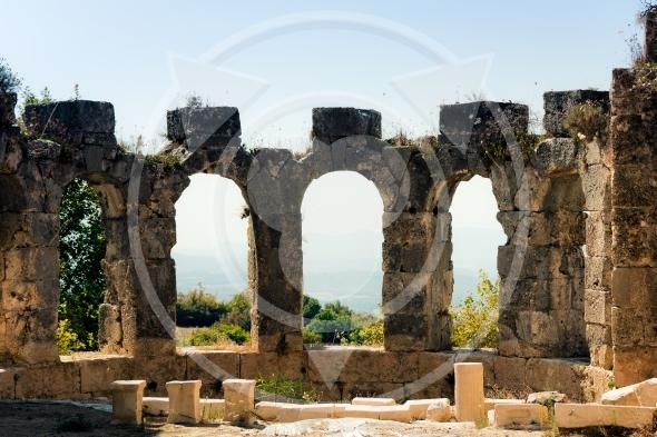 Ancient ruins in Tlos