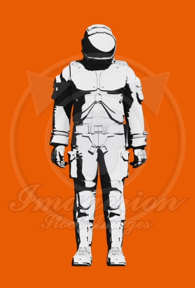spacesuit shown in the image